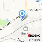 КООППРОМТОРГ на карте Кирова