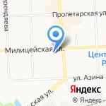 Гейша на карте Кирова
