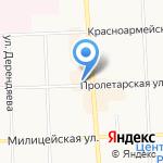 Банный дом на карте Кирова