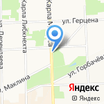 Макси Флора на карте Кирова