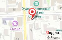 Схема проезда до компании Центр творческого роста в Кирове
