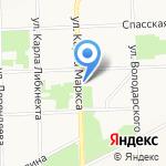 Корпорация на карте Кирова