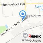 Ешка на карте Кирова