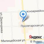 Сеть салонов кожи и меха на карте Кирова