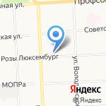 ЮГ на карте Кирова