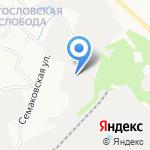 Чистый Свет на карте Кирова