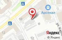 Схема проезда до компании Комфорт-база в Супонево