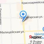 Музей железнодорожного транспорта на карте Кирова
