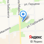 Областной гериатрический центр на карте Кирова