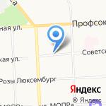 Квелл-Ист на карте Кирова