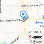 Россиянка на карте Кирова