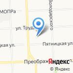 Градиент на карте Кирова