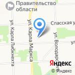 Вятский колледж управления и новых технологий на карте Кирова