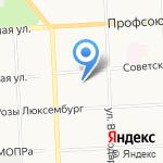 Мисоль на карте Кирова