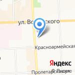 Викинг на карте Кирова