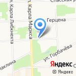 Витрувий на карте Кирова
