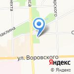 Наследие на карте Кирова