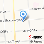 Лабиринт на карте Кирова
