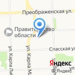 Форест на карте Кирова