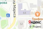 Схема проезда до компании Средняя общеобразовательная школа №22 в Кирове