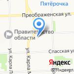 Региональный информационный центр Кировской области на карте Кирова