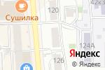Схема проезда до компании Любимые цветы в Кирове