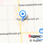СТОК на карте Кирова