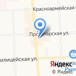 Злата на карте Кирова