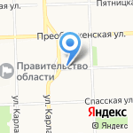 Вятская православная гимназия во имя преподобного Трифона Вятского на карте Кирова