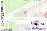 Схема проезда до компании Магия света в Кирове