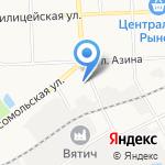 Веломир на карте Кирова