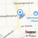 ПЕРО на карте Кирова