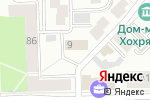 Схема проезда до компании Центр внедрение в Кирове