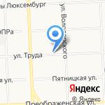 Поле-садик на карте Кирова