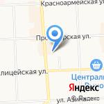 Красава на карте Кирова