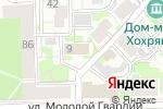 Схема проезда до компании Гарант в Кирове