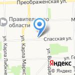 Новый Дом на карте Кирова