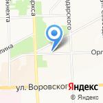 СМ-строй на карте Кирова