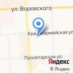 Магазин-мастерская по ремонту обуви на карте Кирова