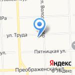 Лев-тур на карте Кирова