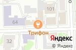 Схема проезда до компании У двух львов в Кирове