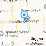 Вятская курьерская компания на карте Кирова