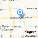 Альба на карте Кирова