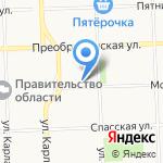 Шалун на карте Кирова