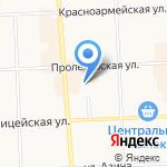 ГОРПРОЕКТ на карте Кирова