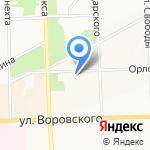 Regner Olga на карте Кирова