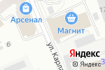 Схема проезда до компании Меридиан в Кирове