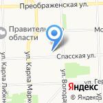 Компания юридических и бухгалтерских услуг на карте Кирова