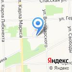 Адвокатский кабинет Новикова А.А. на карте Кирова