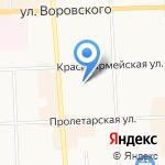 Святки на карте Кирова